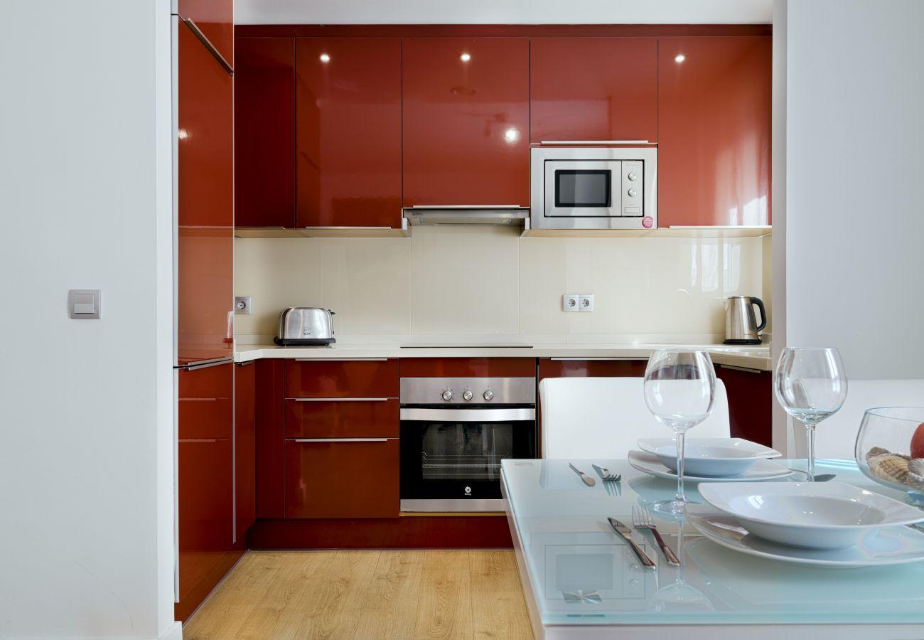 Apartamento en Málaga - Pompidou Terraza 1A