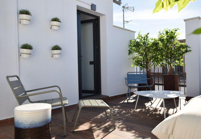 Apartamento en Málaga - Tribuna - Atico Parras Parking