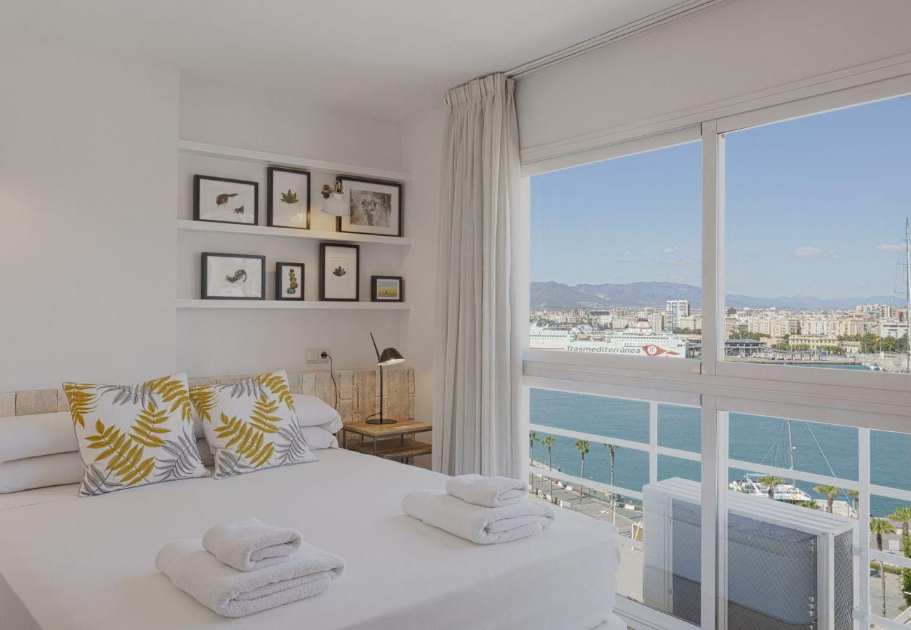 Apartamento en Málaga - Malagueta - Miradore III Muelle Uno