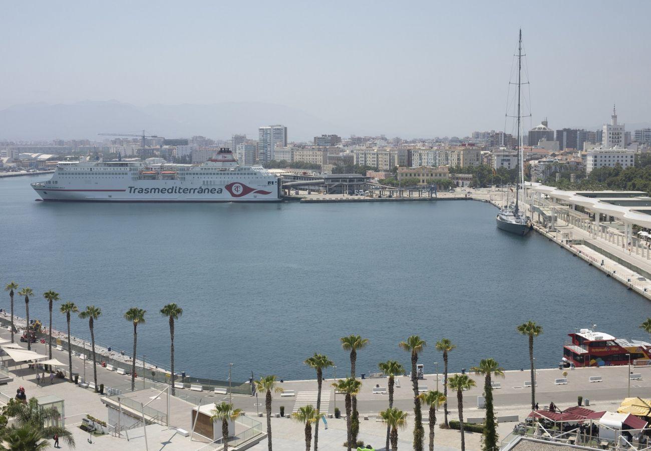Ferienwohnung in Málaga - Malagueta - Miradore III Muelle Uno
